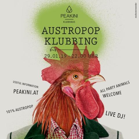 Peakini Austropop Klubbing