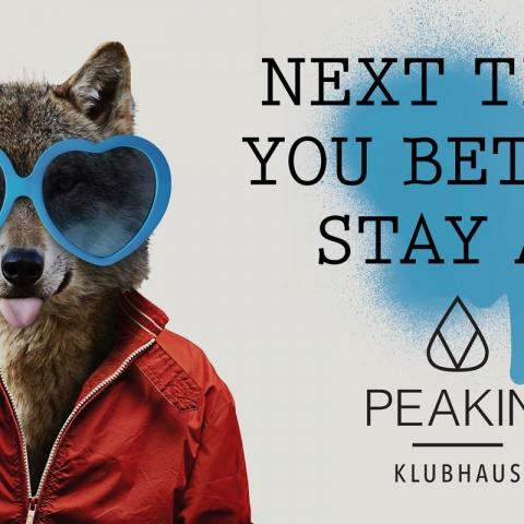Stay at Peakini Klubhaus